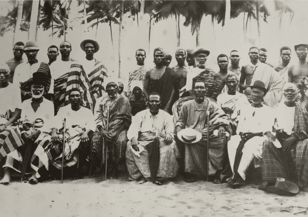 The Founders of Lomé circa 1895